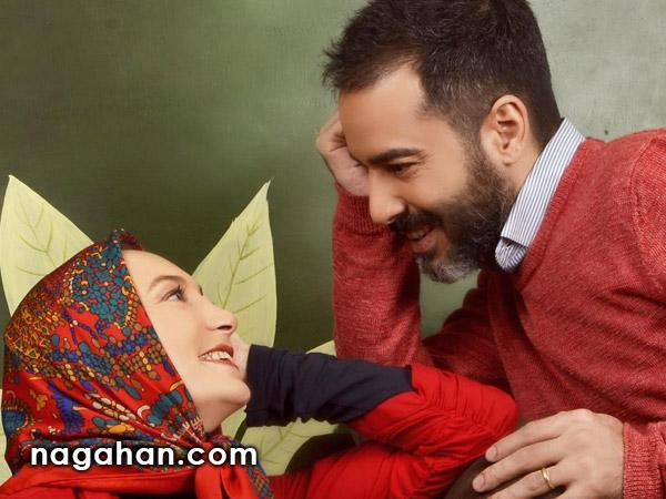 پیام عاشقانه نیما فلاح به همسرش سحر ولدبیگی + عکس