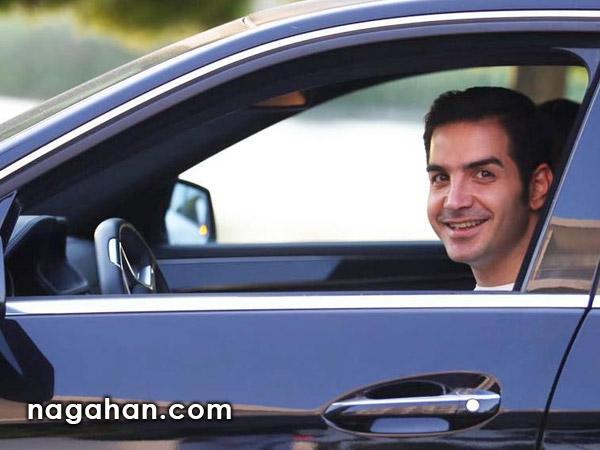 سلفی محسن یگانه و احسان علیخانی در کنسرت + عکس