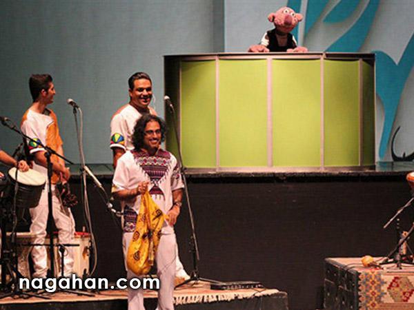غافلگیری کنسرت گروه لیان با خوانندگی جناب خان