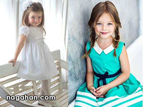 جدیدترین مدل لباس کودک 2016 | لباس و پیراهن دخترانه 95