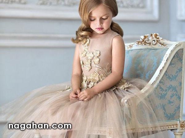 کالکشن جدید لباس کودک | مدل پیراهن عروس دخترانه 95