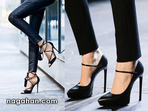 مدل های جدید کفش های مجلسی و نیم بوت زنانه مخصوص پاییز و زمستان 95| کالکشن کفش زنانه 2016