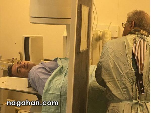 دلیل حضور احمدرضا عابدزاده در بیمارستان