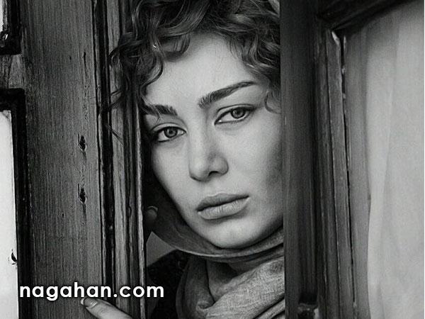 عکس جدید سحر قریشی در گریم فیلم سینمایی نیوکاسل