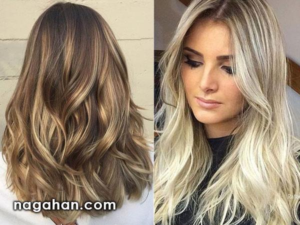 رنگ مو و مدل مو ویژه عید نوروز 96| رنگ مو بانوان در سال نو