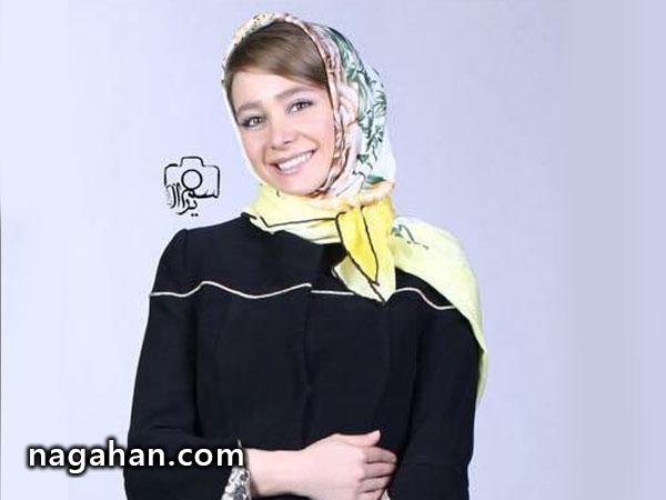 الناز حبیبی مدل تبلیغاتی شد