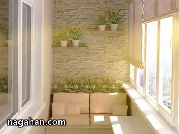 بالکن خانه تان را زیبا و متفاوت تزئین کنید