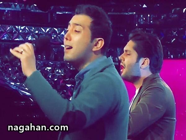 کلیپ اجرای 2 نفره آهنگ تو نزدیکی علی معصومی و علی پورصائب در برنامه شب کوک