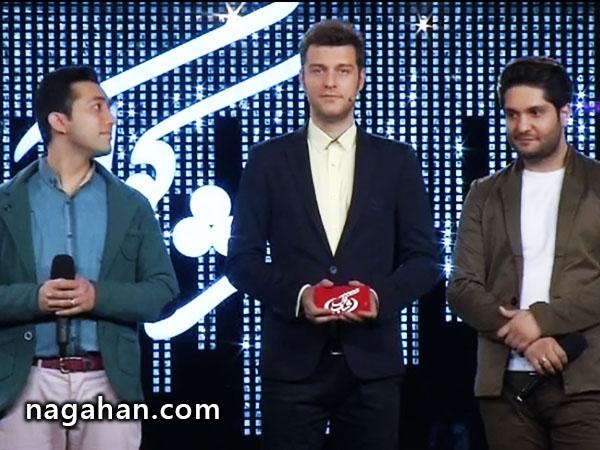 ویدیو اعلام نتایج برنامه شب کوک: علی معصومی و علی پورساعد در نیمه نهایی (9 فروردین)