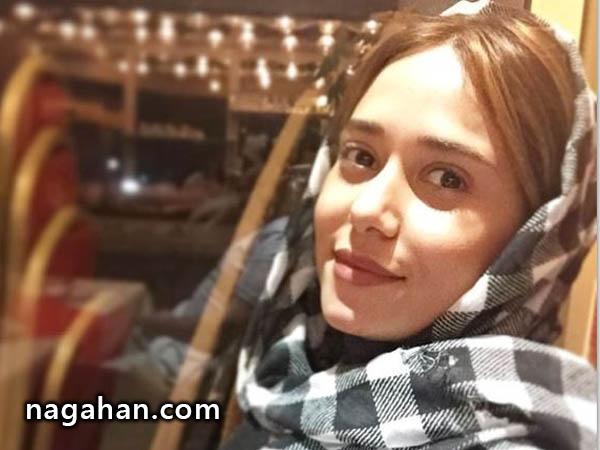 پریناز ایزدیار عکس کودکی خود را منتشر نمود