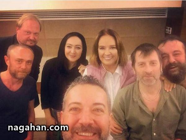 شب پاياني حضور نیکی کریمی در جشنواره فیلم استانبول + عکس
