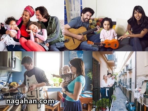خانواده در سراسر جهان ؛ متنوع اما مشابه +عکس