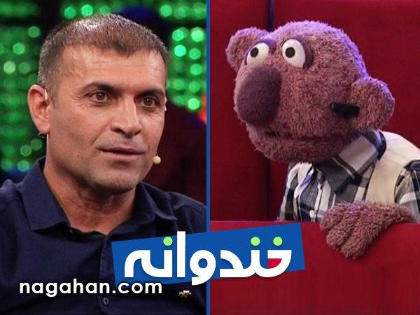 با حضور بازیکنان تیم استقلال خوزستان و عبدالله ویسی به همراه جناب خان