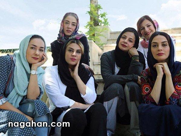 عکس اختصاصی اسکواش بازیگران زن