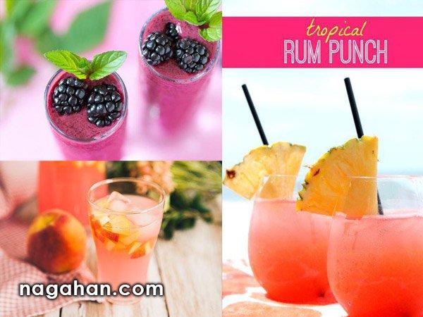 نوشیدنی های متنوع برای فصل تابستان