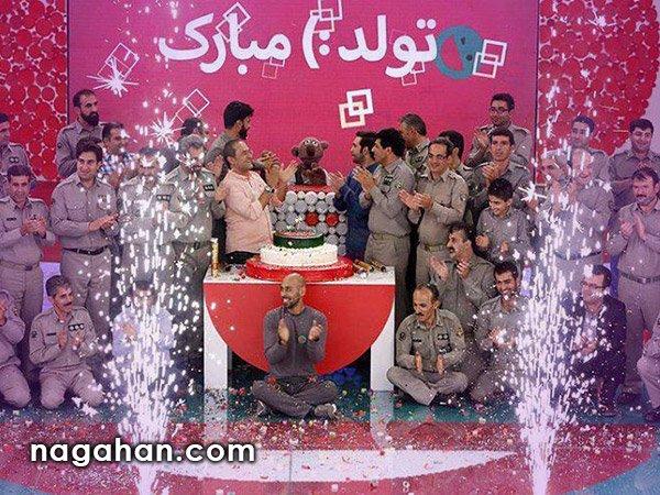 جشن دوسالگی خندوانه با حضور رضا کیانیان ، ارشا اقدسی و جناب خان