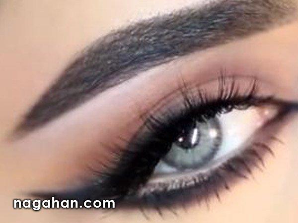 آموزش تصویری کشیدن خط چشم بلند | چشمانی شبیه به گربه داشته باشید