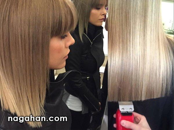 آموزش کوتاهی مو به روش جدید با ماشین اصلاح - موزر | با این مدل مو زنانه از شر موخره خلاص شوید