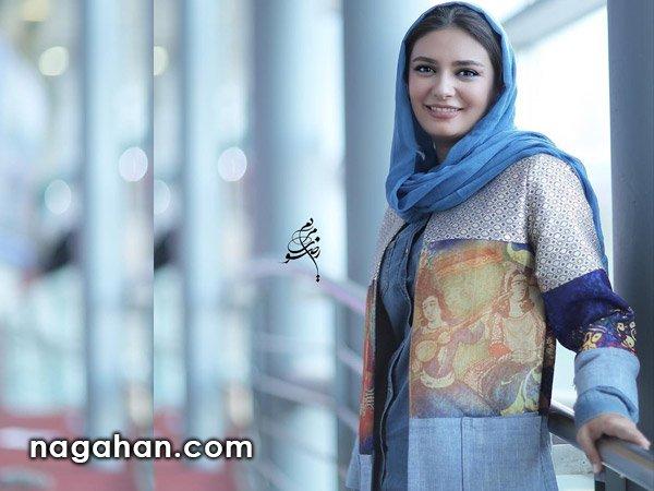 لیندا کیانی | مدل مانتو بازیگر ایرانی لیندا کیانی | مدل مانتو تابستانی 95