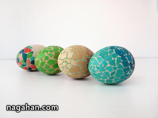 تزئین تخم مرغ آسان!
