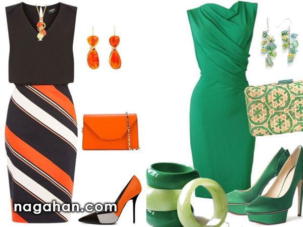 ست کیف و کفش و لباس های مجلسی و شیک مخصوص بانوان خوش سلیقه|جدیدترین مدل های بوردایی برای خیاطی