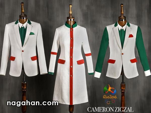 آخرین تغییرات لباس کاروان المپیک ایران با طراحی کامران بختیاری + عکس