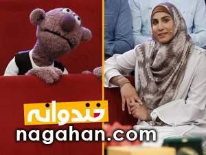 دانلود کلیپ حميده عباسعلی و جناب خان در خندوانه 10 مرداد