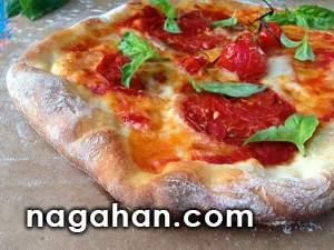 پیتزا رژیمی سبزیجات مخصوص گیاهخواران و علاقه مندان به پیتزا ایتالیایی