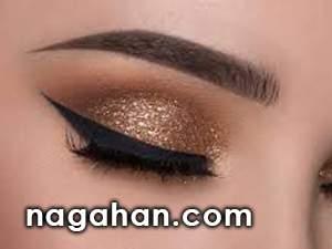 آموزش تصویری و مرحله به مرحله آرایش چشم عروس|ویدیو آرایش چشم و صورت مناسب مجالس عروسی،تولد و میهمانی