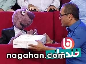 دانلود کلیپ جناب خان و عیادت از بیماران بیمارستان در خندوانه 6 مهر