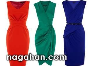 لباس های مجلسی در رنگ های متنوع | پیراهن های دخترانه و زنانه مخصوص مهمانی و تولد