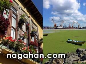 مکان های دیدنی و گردشگری استان گیلان | تصاویر دیدنی از بازار محلی و نقاط مختلف گیلان