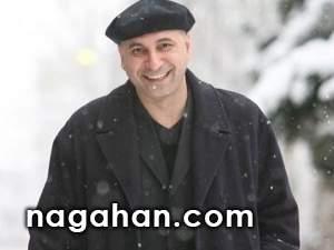 پیام تبریک کریسمس حمید فرخ نژاد با گریم بابانوئل