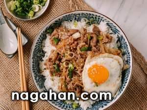 گیودون : کاسه ی برنج و گوشت ژاپنی