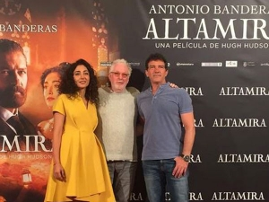 گلشیفته فرهانی و آنتونیو باندراس بر روى فرش قرمز!