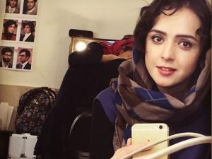 ترانه علیدوستی در پشت صحنه سریال شهرزاد+عکس
