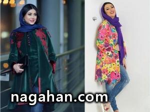 بازیگران ایرانی کدام مدل مانتو را می پسندند؟ + عکس