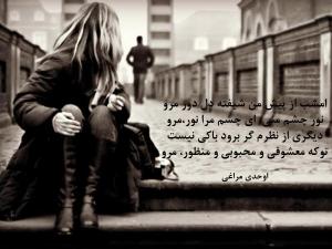 جملات زیبا : دلتنگی