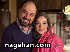 عکس های عاشقانه برزو ارجمند و همسرش