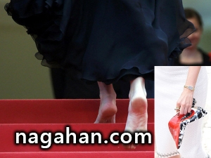 زنان بازیگری که پابرهنه به فرش قرمز کن رفتند! + عکس