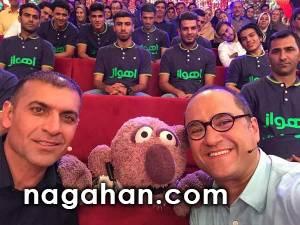 بازیکنان استقلال خوزستان به همراه ویسی در خندوانه با حضور جناب خان