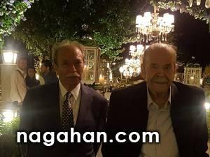 محمدعلی کشاورز و علی نصیریان، دوستان قدیمی