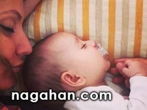 عکس تولد یک سالگی دختر مهناز افشار + معنی اسم لیانا