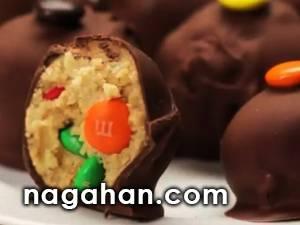 آموزش تصویری پاپ کیک شکلاتی به روش آسان