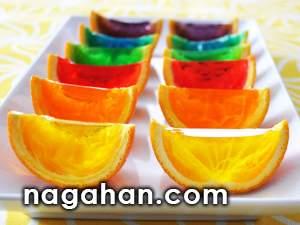 آموزش تصویری تزئین ژله پرتقالی | ویدیو آموزشی طرز تهیه ژله در پوست پرتقال