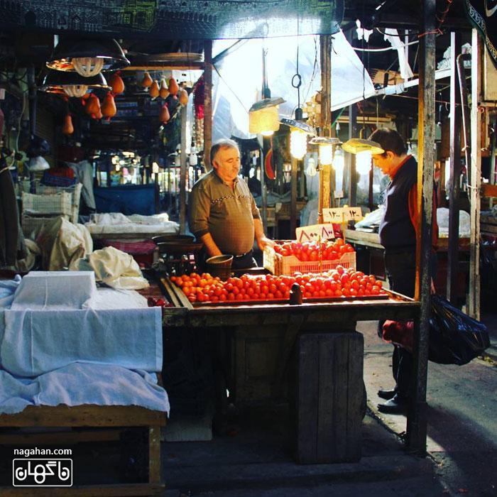 بازار محلی رشت و عکس غذاهای محلی گیلان | شهر غذاهای متنوع و رنگارنگ (بخش دوم)