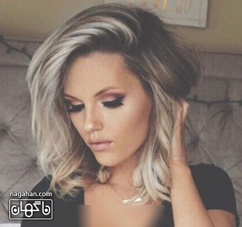 مدل رنگ مو و کوتاهی مو 2017 | جدید ترین مدل رنگ مو ، مش ، هایلایت و لولایت برای بانوان