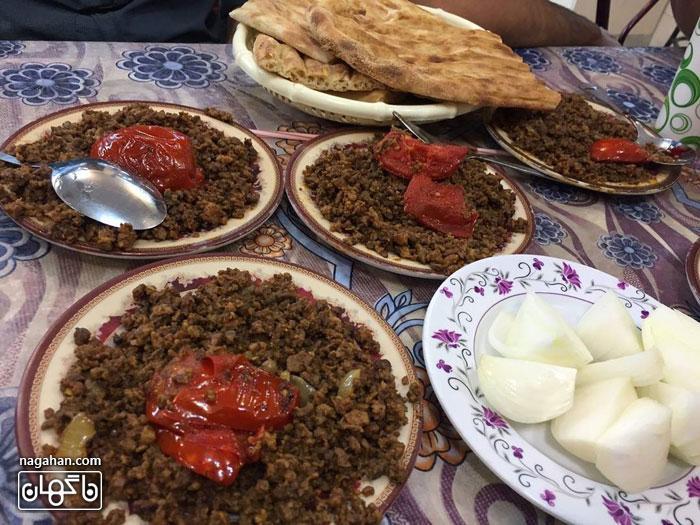 واویشکا -غذای محلی گیلان