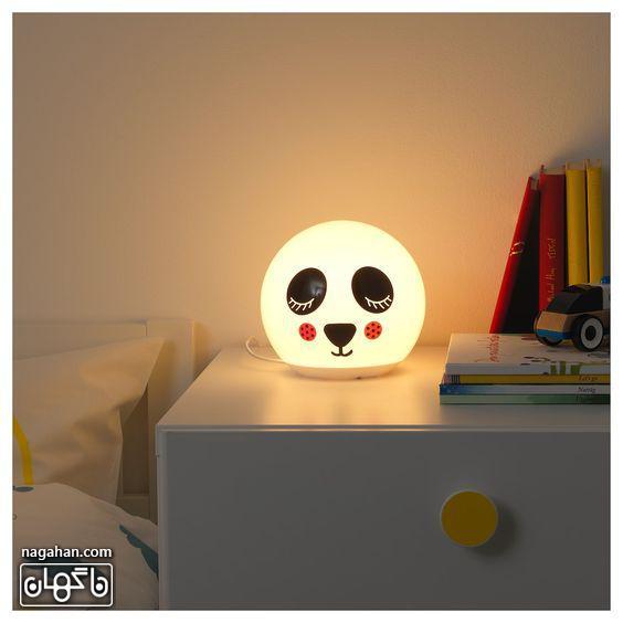 چراغ خواب برای اتاق کودک