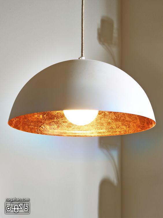 چراغ آویز مدرن و ساده برای آشپزخانه